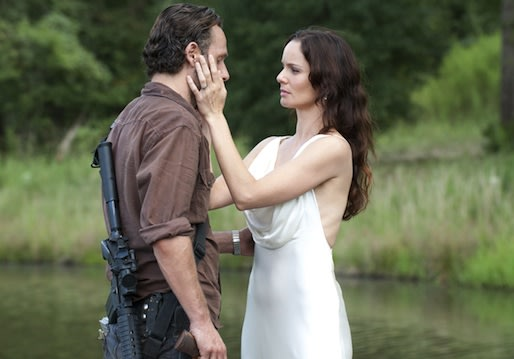walking dead season 3 rick and lori relationship