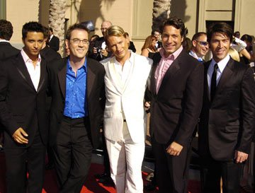 Jai Rodriguez, Ted Allen, Carson Kressley, Thom Filicia and Kyan Douglas 2004 Emmy Creative Arts Awards Arrivals - 9/12/2004 Carson Kressley