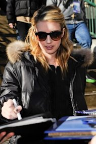 Emma Roberts and I had different experiences at Sundance. (Wire Image)