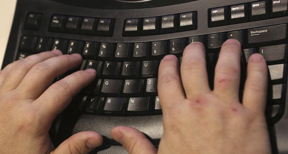 This photo made Saturday, April 6, 2013, shows a demonstration of keyboarding in Dallas. Does typing have a future? The time-honored skill of typing/keyboarding, while still useful, is less necessary than it used to be. (AP Photo/LM Otero)
