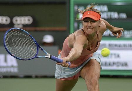 Tennis: BNP Paribas Open-Sharapova vs Pennetta