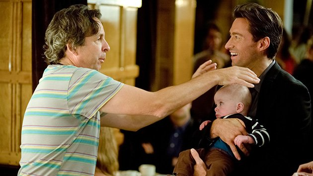 Peter Farrelly and Hugh Jackman