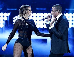 """Beyonce and Jay Z's Sexy """"Drunk in Love"""" Grammys Opener -- Stars React!"""