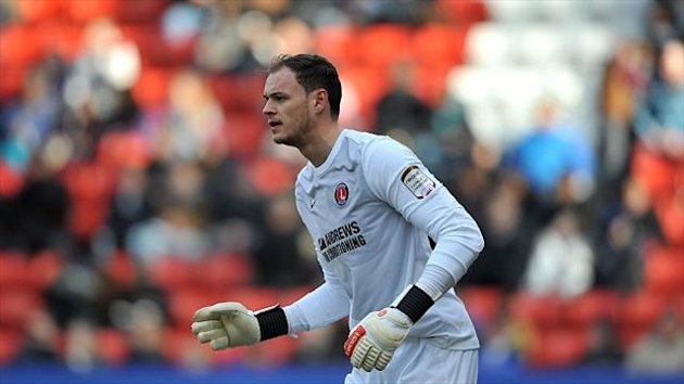 Brentford goalkeeper David Button was sent off in his side's 4-0 defeat at Bradford