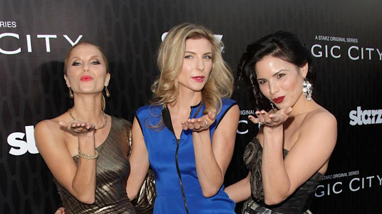 Ellen Hollman, Viva Bianca, and Katrina Law