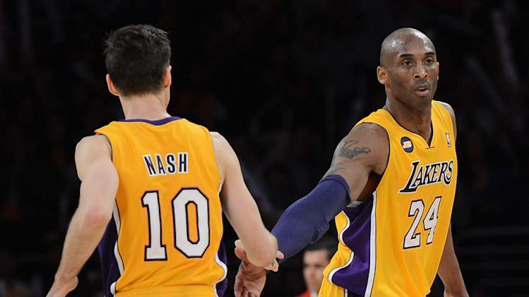 NBA: Washington Wizards at Los Angeles Lakers