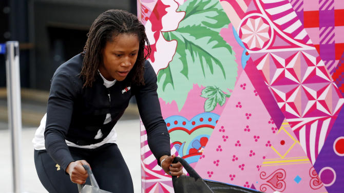 Olympics: Bobsleigh-Women's Official Training