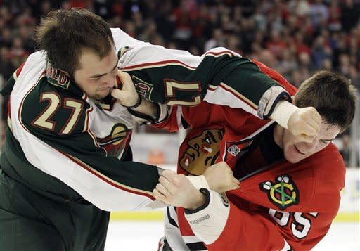 Wild beat Blackhawks 5-4 in shootout