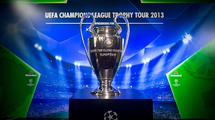 UEFA Champions League Trophy Tour 2013