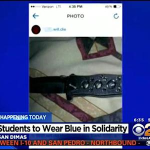 San Dimas Students To Wear Blue In Support Of Victim Of Cyber-Bullying