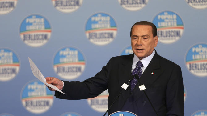 Berlusconi vows to cancel property tax on Day 1