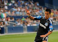 San Jose Earthquakes midfielder Anthony Ampaipitakwong, pictured in 2011, an American of Thai heritage, was transfered to Buriram United of the Thai Premier League on Monday for an undisclosed fee