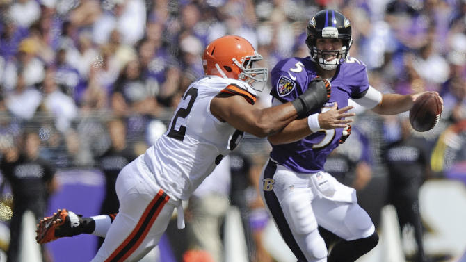 Flacco shows poise in pocket during 'special' day