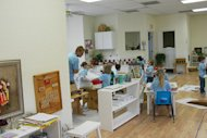 Montessori learning areas