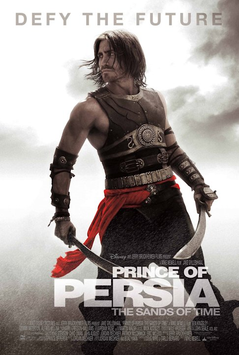 Prince of Persia: The Sands of Time Poster Production Stills Walt Disney 2010