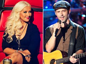 Christina Aguilera Reunites With Mickey Mouse Club's Tony Lucca on The Voice