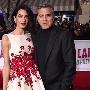 Amal Clooney Shuts Down the Red Carpet in a Stunning Sparkling Gown