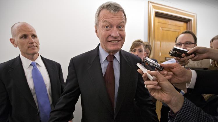 Montana Democrat Baucus rules out 7th Senate term
