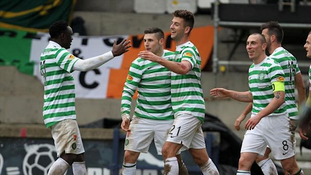 Celtic had no problems beating Raith