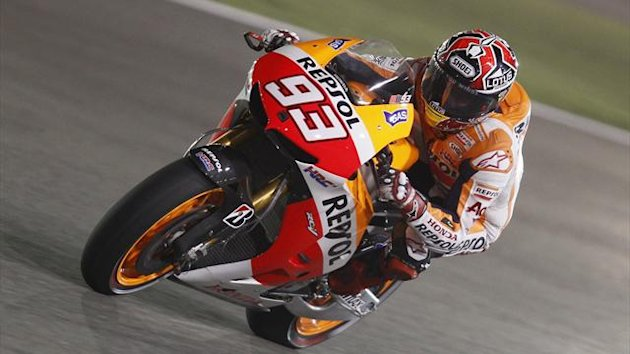 MotoGP rider Marc Marquez of Spain (Reuters)