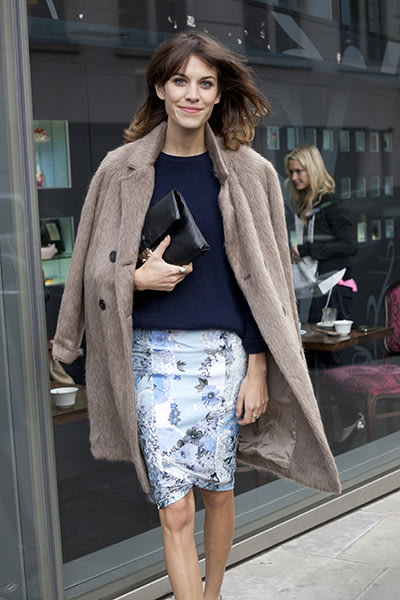 London Fashion Week street style this February
