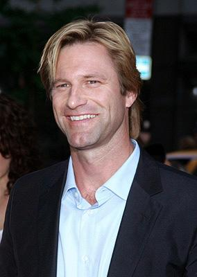 Aaron Eckhart at the New York premiere of Warner Brothers' No Reservations