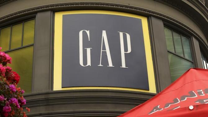 A Gap retail store is shown in San Francisco