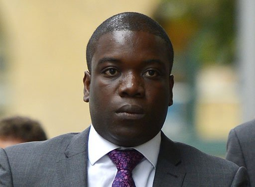 <p>Former UBS banker Kweku Adoboli arrives at Southwark Crown Court in London on September 14 for his trial on charges of alleged fraud and false accounting. The trader is accused of losing 2.3 billion USD (1.4 billion GBP) at the Swiss bank UBS in what is alleged to be Britain's biggest banking fraud.</p>