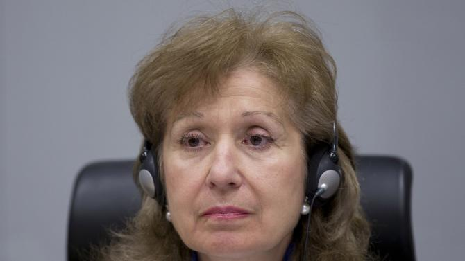 Judge Trendafilova leads procedures in the case against Ongwen, a commander of the LRA at the ICC in The Hague