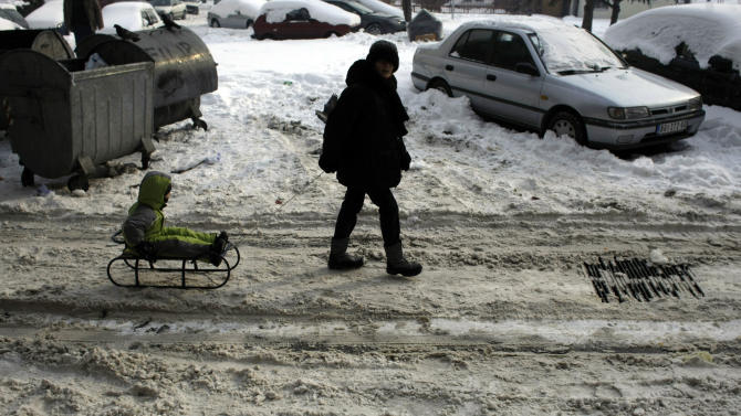 Serbia urges citizens to save power in big freeze