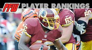 Week 17 RB rankings