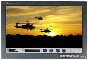 "Chassis Plans' 24"" Rugged Rackmount LCD Monitors Now Support Multi-Touch Technology With Gesture Recognition"