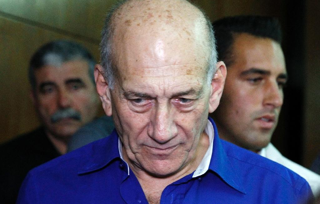 Israel's ex-PM Olmert gets another month of prison