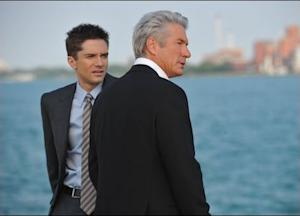 "Topher Grace and Richard Gere in ""The Double."""