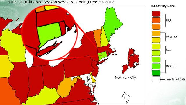 Less Flu in Connecticut? Maybe Not