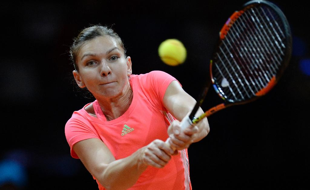 Halep, Bouchard crash in Madrid as Serena, Sharapova cruise