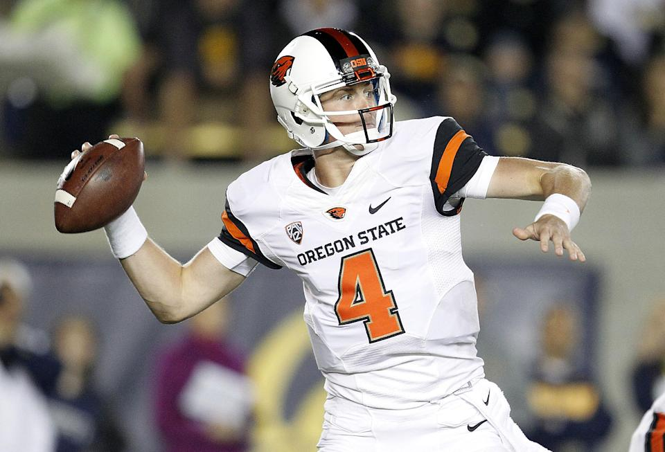 Oregon St. dominates California for a 49-17 win