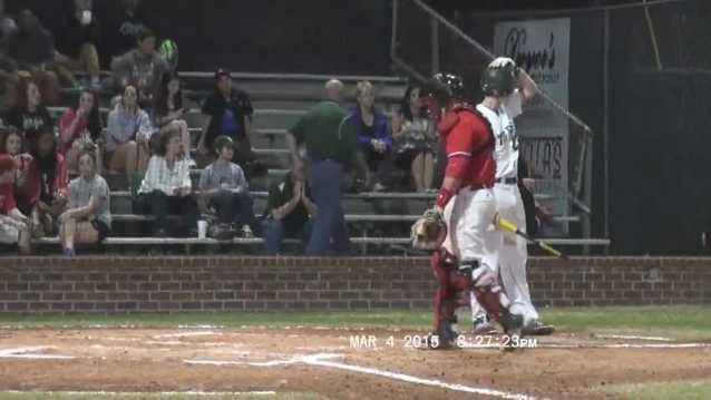 Spencer Cayten-Slidell High Baseball versus Lorange High 3-4-2015