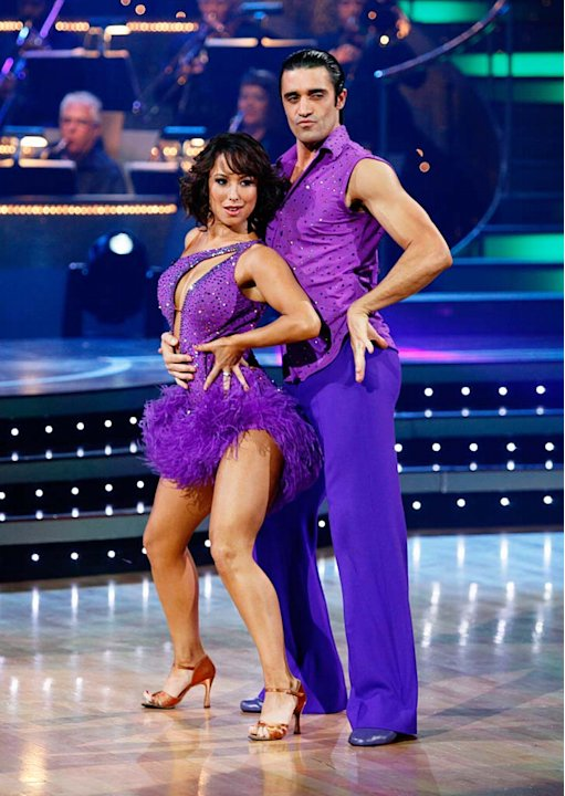 Gilles Marini and Cheryl Burke …