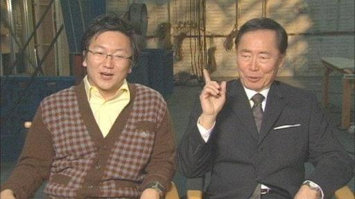 Masi Oka and George Takei