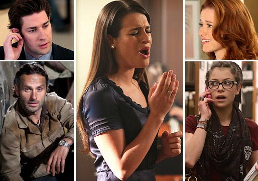 Ask Ausiello: Spoilers on Grey's, Glee, Walking Dead, Scandal, Office, Arrow, TVD and More!