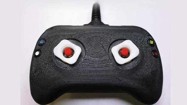 Concept video game controller takes haptic feedback to the next level