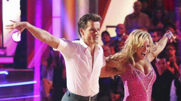 Louis Van Amstel and Sabrina Bryan (9/24/12)
