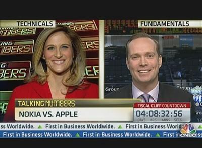 Talking Numbers: Buy Nokia or Apple?