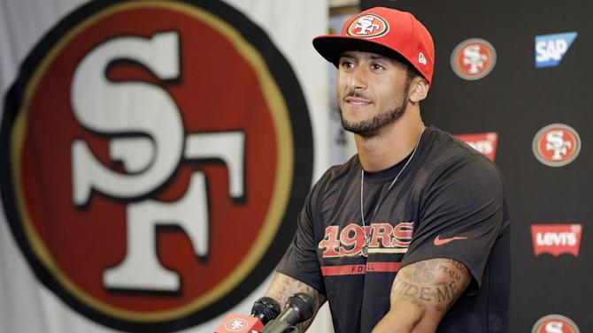 No charges in Fla. for Kaepernick, 2 other players