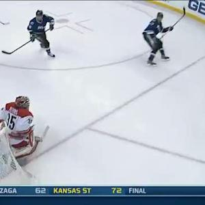 Victor Hedman beats Peters short side