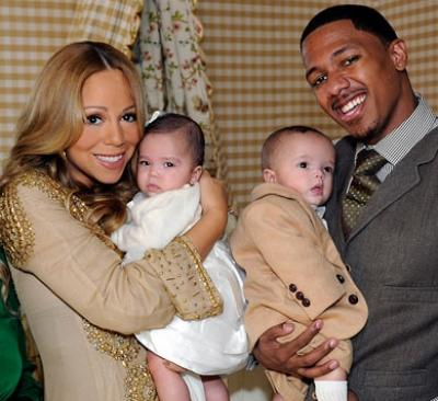 Mariah Carey and Nick Cannon with twins Moroccan and Monroe on ABC's '20/20' -- ABC
