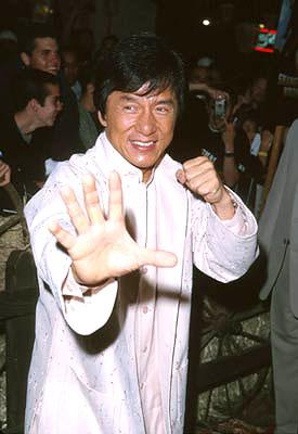 Premiere: Jackie Chan at the Hollywood premiere of Touchstone's Shanghai Noon - 5/23/2000