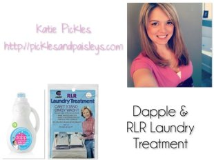 Dapple and RLR Laundry Treatment