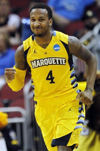 Led by Crowder's 25, Marquette holds off BYU 88-68